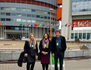 CCS executive director Elizabeth Sightler presents at UN in Austria